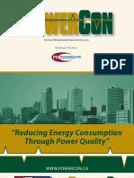 PowerCon Optimized Power Solutions Inc. Brochure