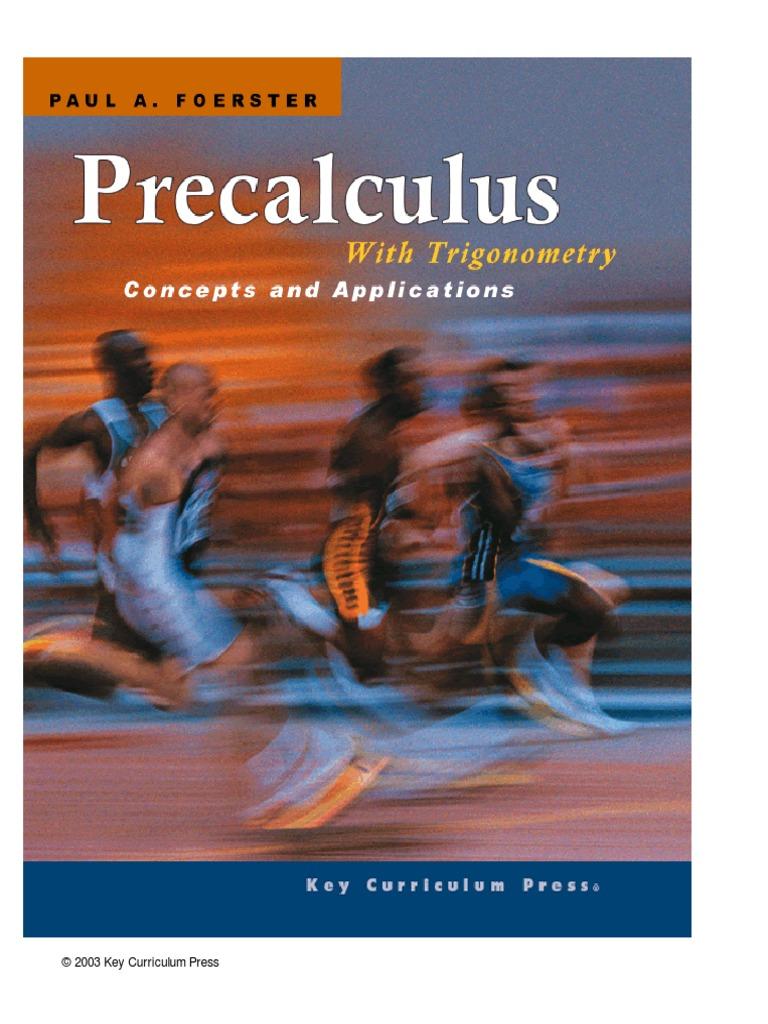 Precalculus With Trigonometry   Trigonometric Functions   Function ...