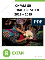 Oxfam - Lac Strategic 2013-2019