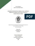 Deskripsi Konduktivitas Termal Pada Campuran Serbuk Dan Serabut Kulit Kelapa Dengan Variasi Tekanan Press l2e004423 Nandi Hidayat