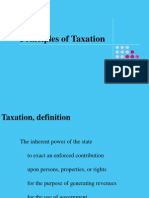 what is the purpose of taxation