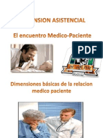 Dimension Asistencial