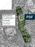Building Clapton's Future - Urban regeneration proposal for a London district.