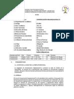 silabus de Comunicación Organizacional II