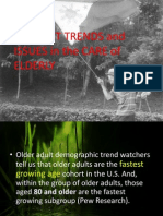 Current Trends and Issues in the Care of Elderly