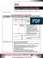 Mitsubishi-Troubleshooting Guide for Projectors