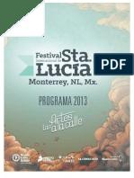 Programa de Eventos Mont s Luc 2013