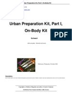 Urban Preparation Kit Part I On