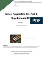 Urban Preparation Kit Part II