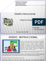 Diseño Instruccional - Modelo Dorrego - UJAP