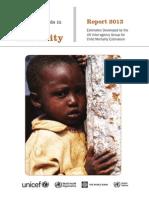 Child Mortality Report 2013