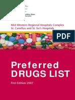 Preferred Drug List