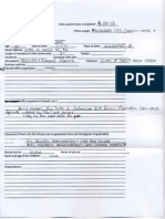 Gary Darr Questionnaire