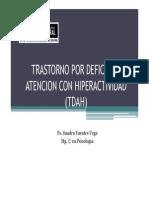 Trastorno Por Deficit de Atencion Con Hiperactividad 2012( [Modo de Compatibilidad]