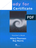 Ready for First Certificate Teacher's Book