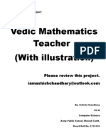 Vedic Maths C++ with source code