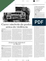 carro - poder e violência - Denir Miranda -  CB -16-05-07