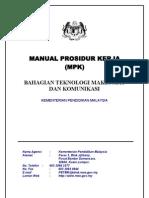 Manual Prosedur Kerja Btmk