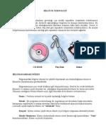 Bilgileri Saklama-Ders Notları