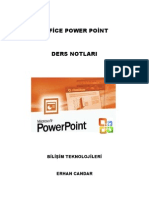 Office PowerPoint 2003 Ders Notları