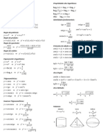 Formulário Cálculo II