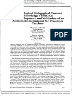 02-TPCK - Development and Validation of Assessment Instrument for Preservice Teachers