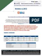 ValuEngine Weekly:Cisco,IBM,Aerospace,Valuations, and Suttmeier