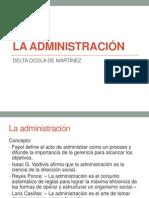 1. LA ADMINISTRACIÓN (1)