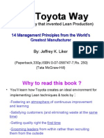 The Toyota Way 1