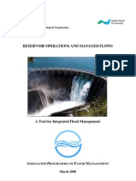 Tools Reservoir Operations and Managed Flows