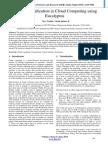 Secure Virtualization In Cloud Computing Using Eucalyptus
