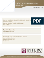 Fremont Full Market Report (Week of Sep 30, 2013)