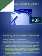 Como Organizar Um Texto Dissertativo