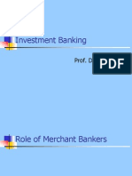 120851386 Investment Banking Ppt