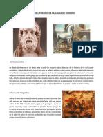 Analisis Literario de La Iliada de Homero