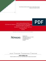 POLÍTICAS CULTURALES Y CULTURA POLÍTICA EN UNA ORGANIZACIÓN CAMPESINA DEL MAGDALENA MEDIO COLOMBIANO