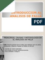 Introduccion Al Analisis de Falla