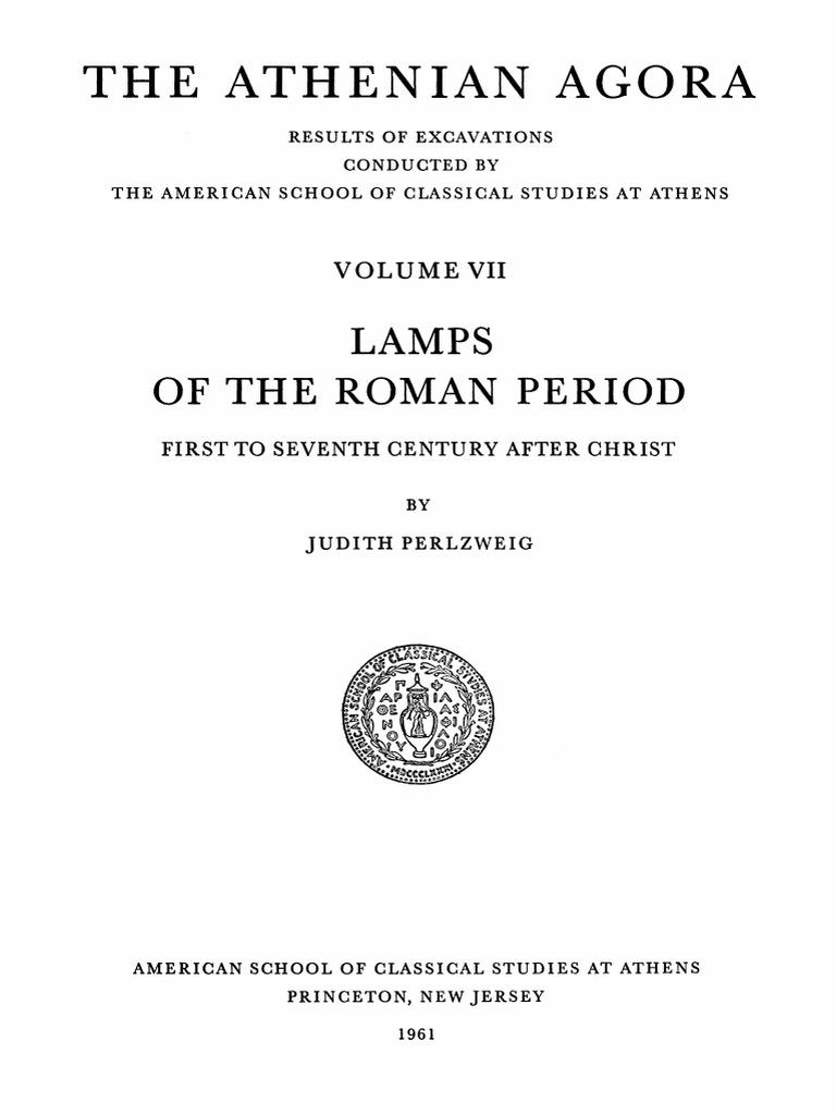 Agora Athenei vol 7 opaitele romane | Archaeology