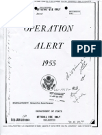 Operation Alert 1955 State Department Document