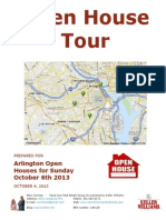 Open Houses in Arlington VA Oct 6.  FREE LIST