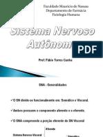 FMN - Farmácia - Sistema Nervoso Autônomo
