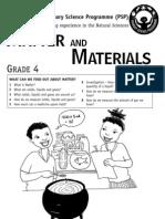 Matter and Materials [Grade 4 English]