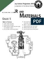 Matter and Materials [Grade 5 English]