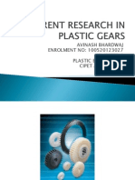 Current Research in Plastic Gears