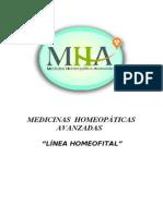 Vademecum Linea Homeofital