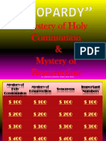 jeopardy holy communion resurrection
