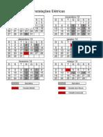 Calendário das Aulas - Instalações Elétricas Residenciais e Comerciais
