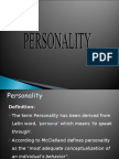 Personality Final Groups