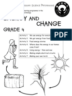 Energy and Change [Grade 4 English]