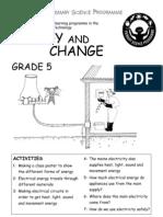 Energy and Change [Grade 5 English]